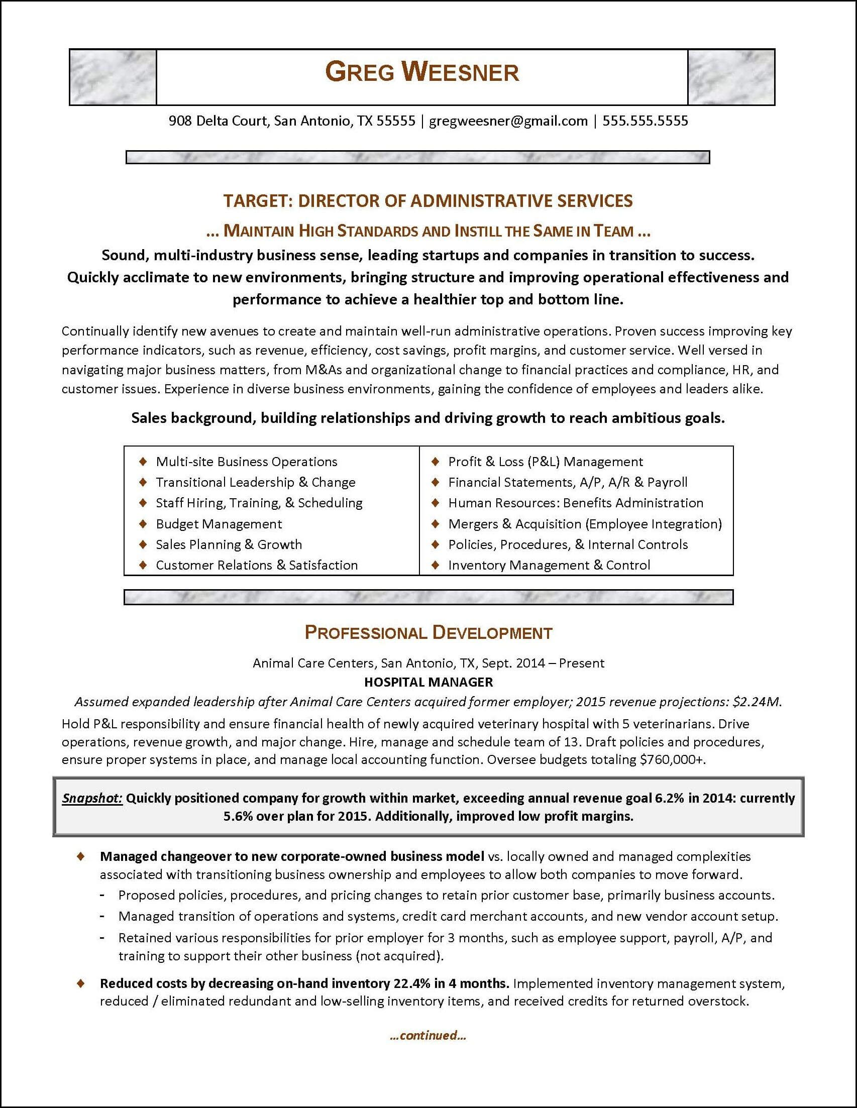 Resume Examples Career Change Professional Resume Writing