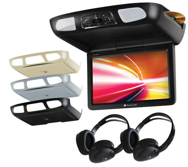 Planet Audio P10.1ES Flip Down DVD Player