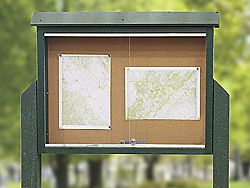 Outdoor Bulletin Boards Outdoor Message Boards in Stock ULINE