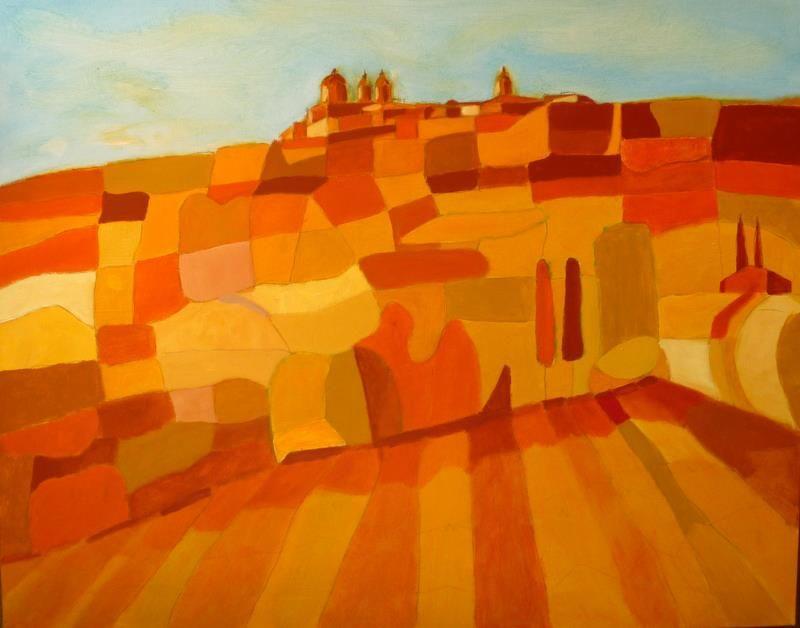Valley of Mosta (Malta) in the summer - by Camille A Janssen