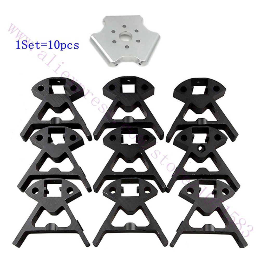 1 Set Delta 3D Printer Kossel Mini K800 Aluminum Alloy Mount Frame ...
