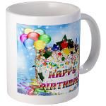 Happy Birthday Mug 4u! Mug  http://www.cafepress.com/lovepositivethinking/9110296