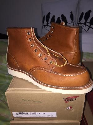 Red Wing 875 Factory Seconds - D 10.0
