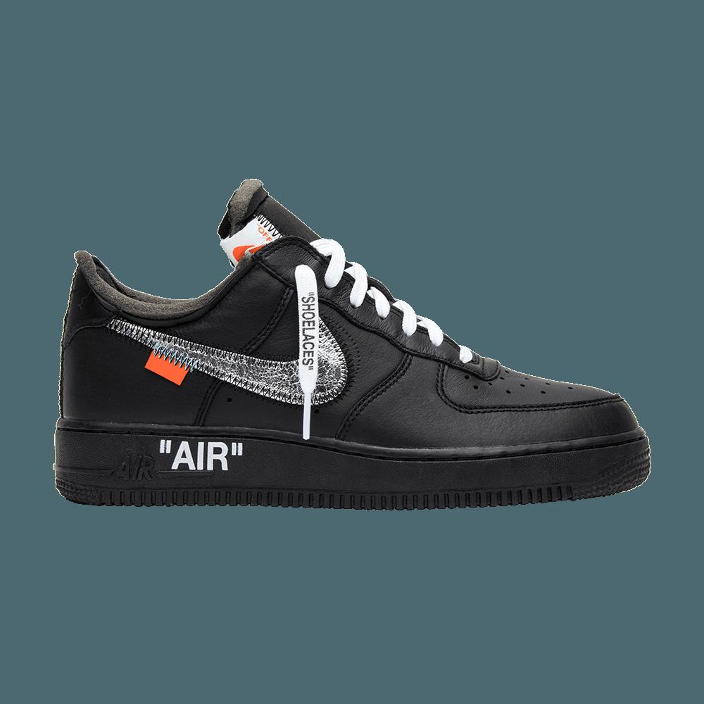 "Copuon OFF WHITE X Nike Air Force 1 ""CUSTOM"" White BlackOrange Shoelaces"