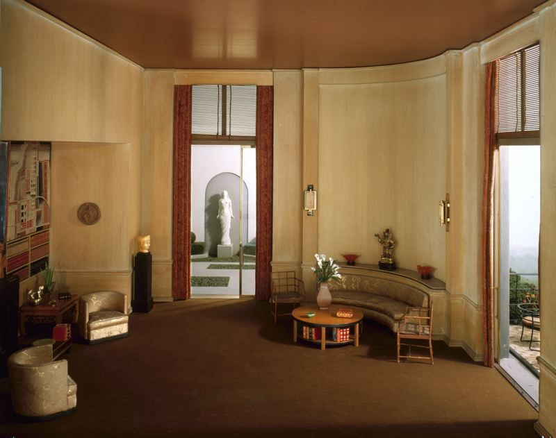 French Art Deco Library Thorne Miniature Room