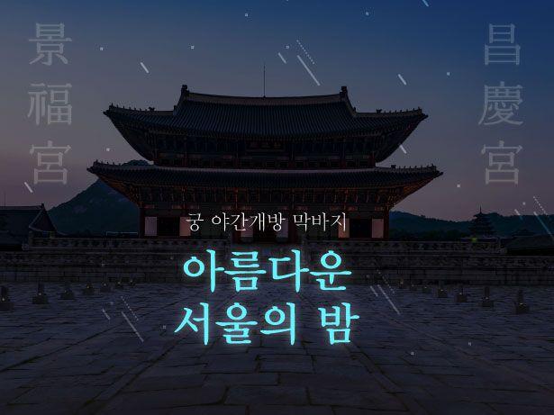 운치있는 '고궁 야간개장' 다음달 4일까지 [인포그래픽] | VISUAL DIVE