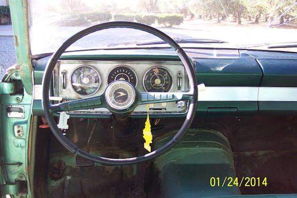 Bat Exclusive 1963 Studebaker Lark Regal Wagonaire Studebaker Western Car Sale Interior