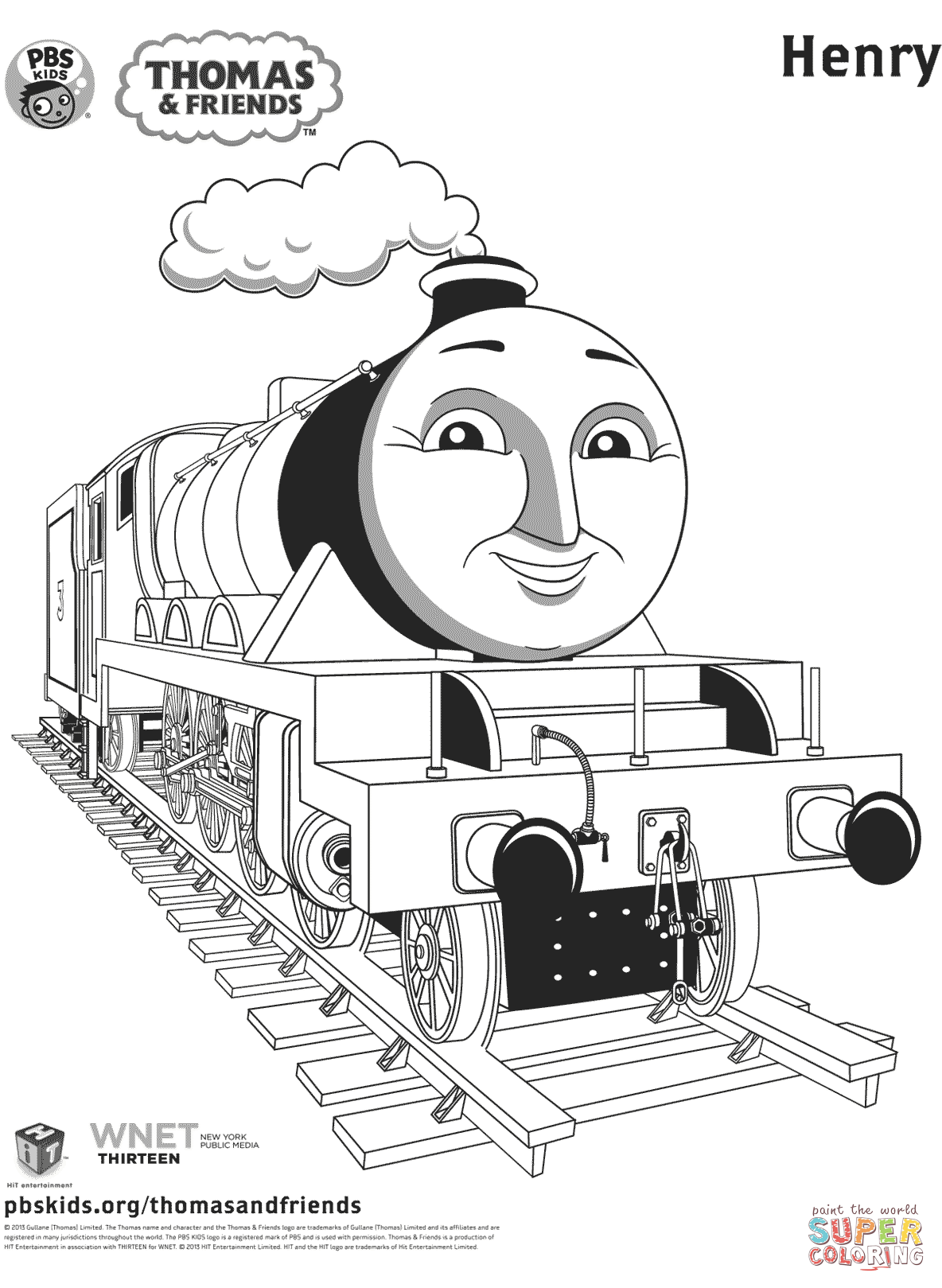Thomas Coloring Pages Train coloring pages, Coloring