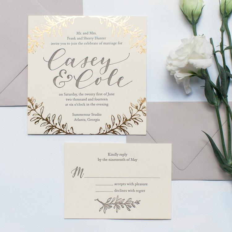 wedding invitations atlanta%0A Putting Together The Sweetest Suite  Wedding Invitation