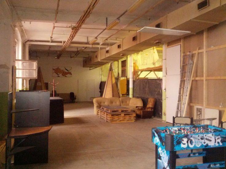 Photo of Arbeite hart, spiele hart. Der Aufenthaltsraum / Kreativraum in unserem Connect-Büro …