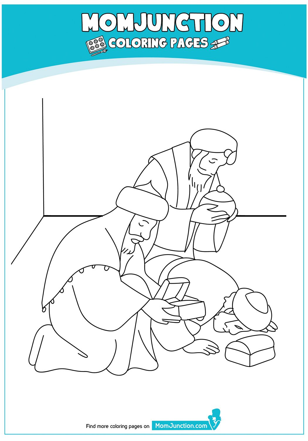 Top 10 Nativity Coloring Pages For Your Toddlers