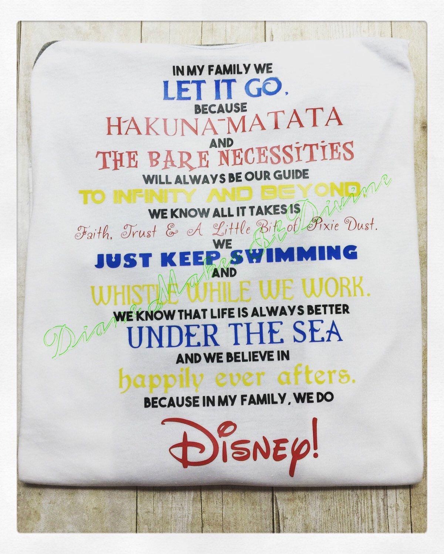 Disney Shirt Disney Quotes Shirt Disney Movie Quotes In My Etsy Disney Quote Shirts Disney Shirt Diy Disney Shirts