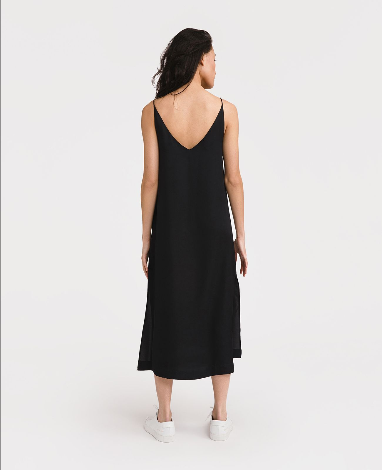 28d59ecbf2f0 Silk V-Neck Slip Dress   wardrobe   Dresses, Silk, V neck