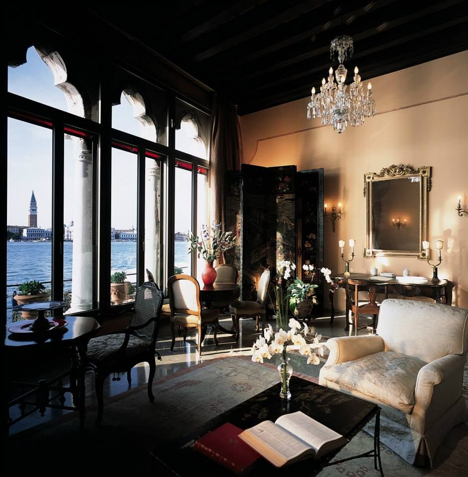 Stay at Hotel Cipriani by Orient-Express overlooking the Venetian lagoon and St Mark's Square.