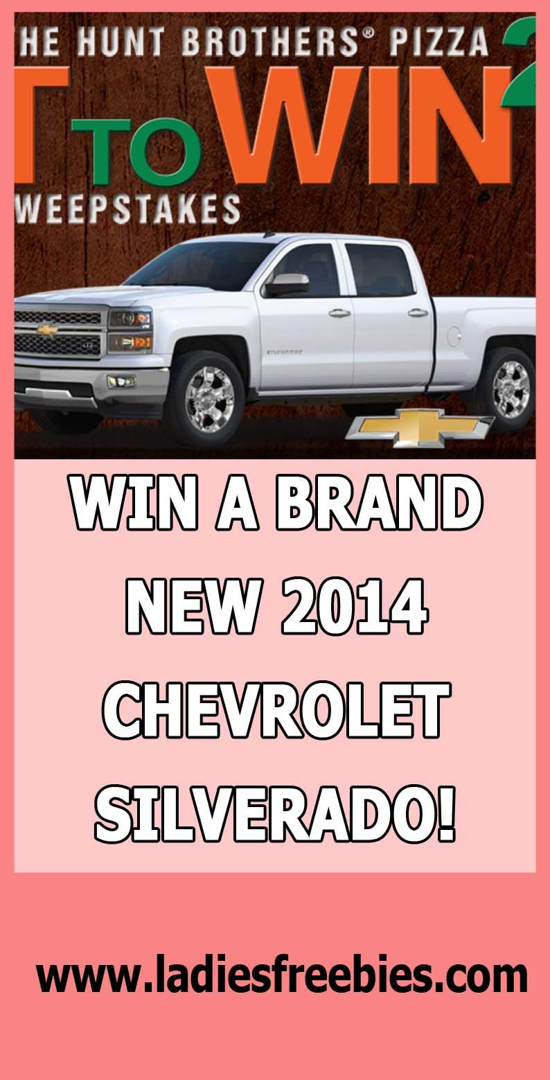 Win A $40,000 Chevy Silverado on ladiesfreebies com! #chevy