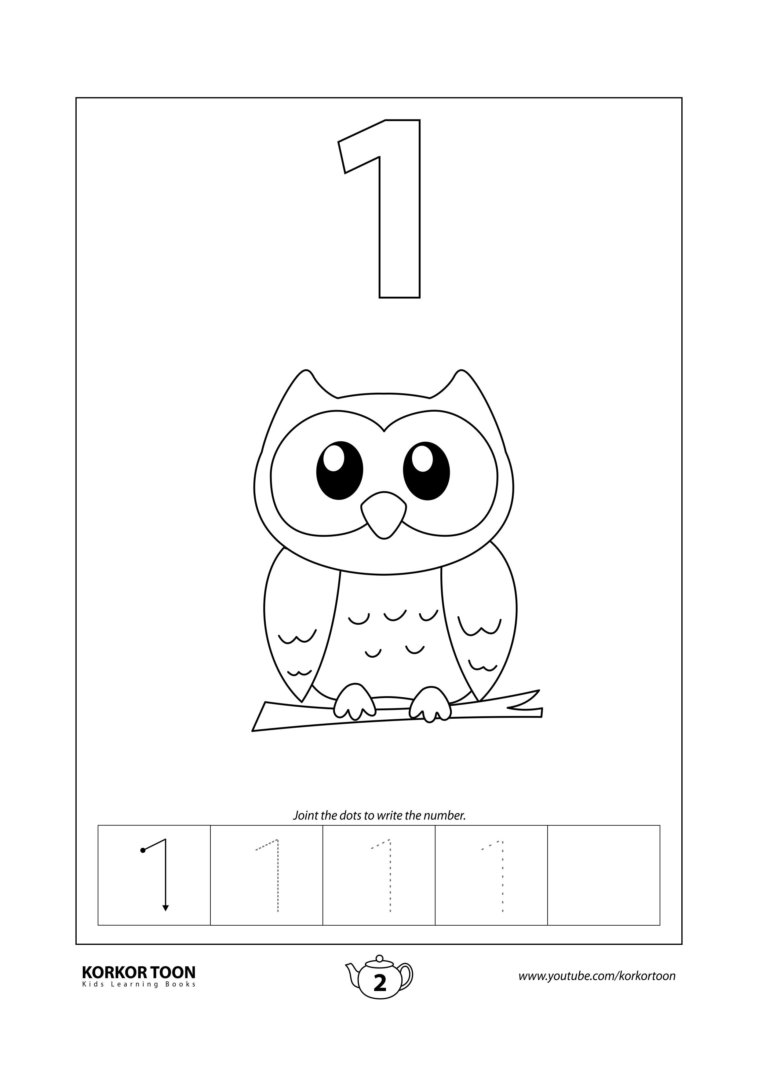 Numbers Coloring Book For Kids Number 1 Coloring Books Printables Free Kids Kids Coloring Books [ 3508 x 2482 Pixel ]