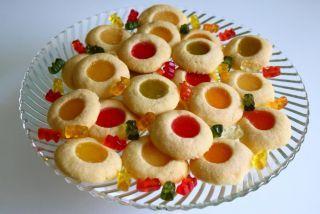 Gummibärchen-Kekse #peanutbuttersquares