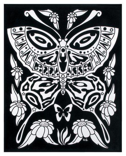 """Darice® 16"""" x 20"""" Butterfly Velvet Color-In Poster in 2019 ..."""