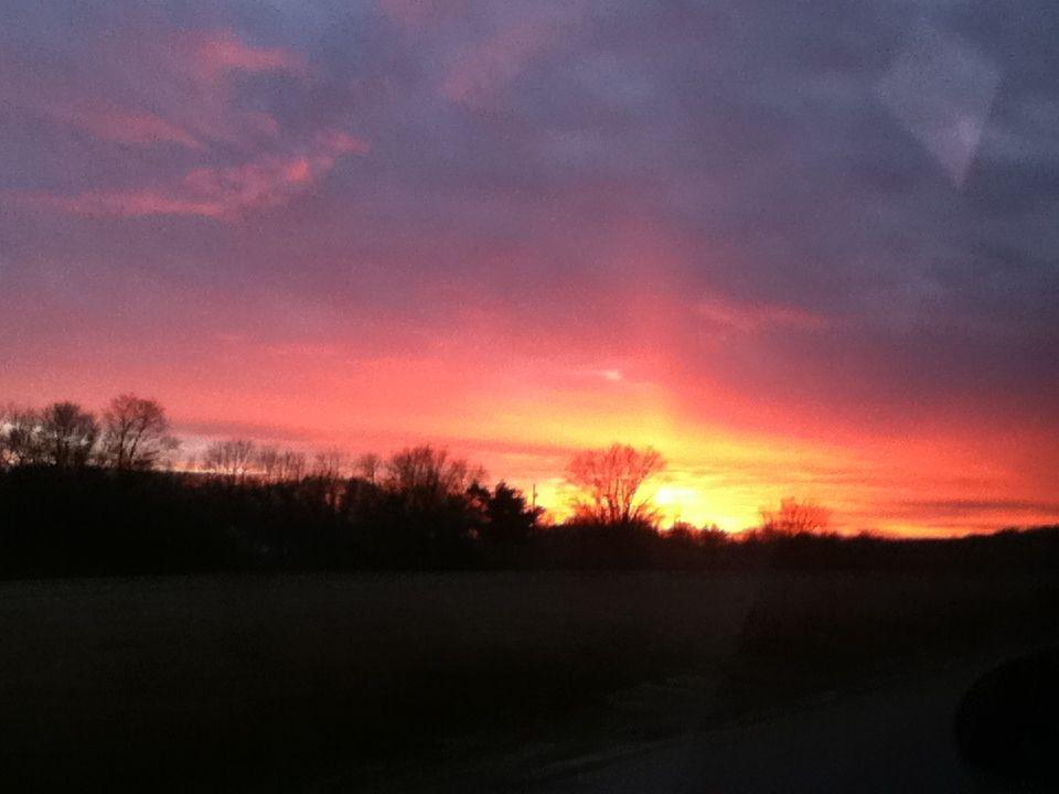 Indiana sunsets