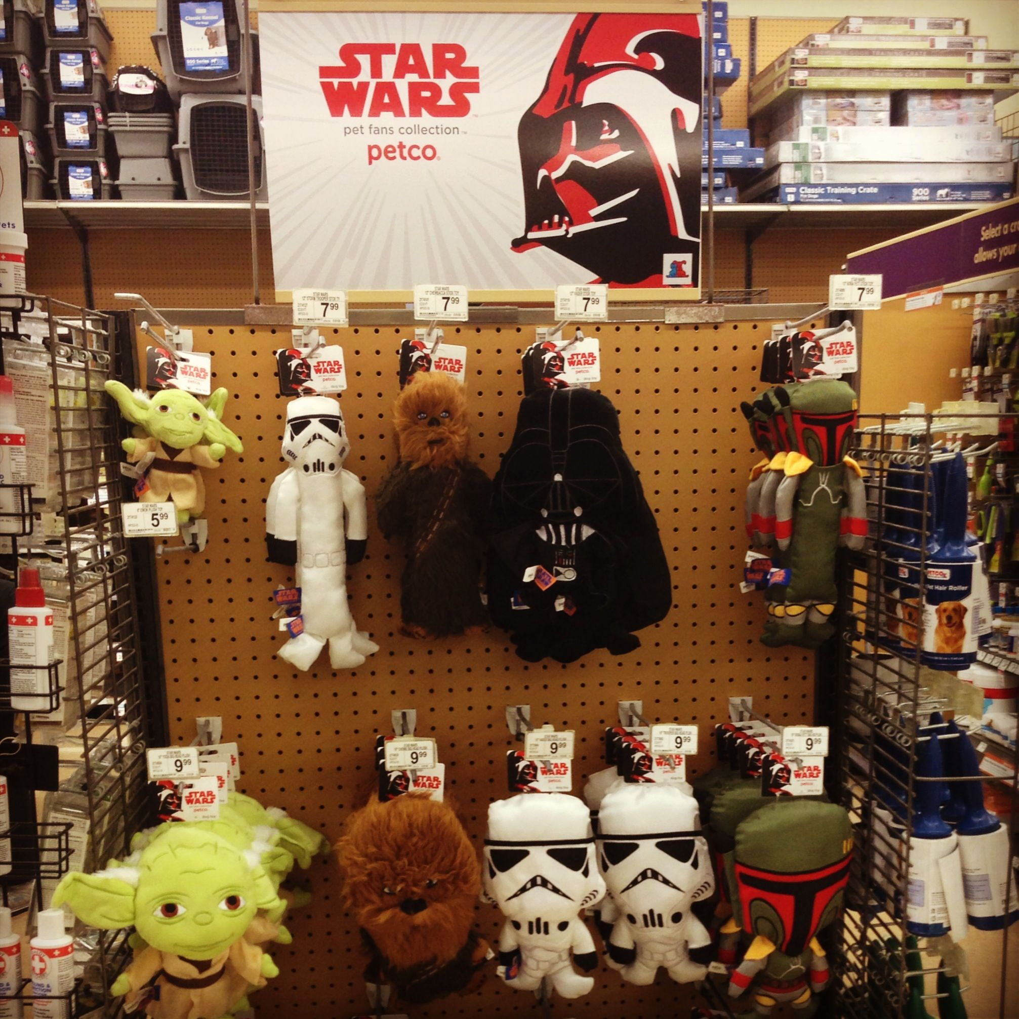 Star Wars Dog Toys At Petco And Not Just Chewy Starwars