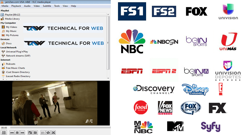 IPTV USA M3U LINK | IPTV M3U PLAYLIST | Desktop screenshot