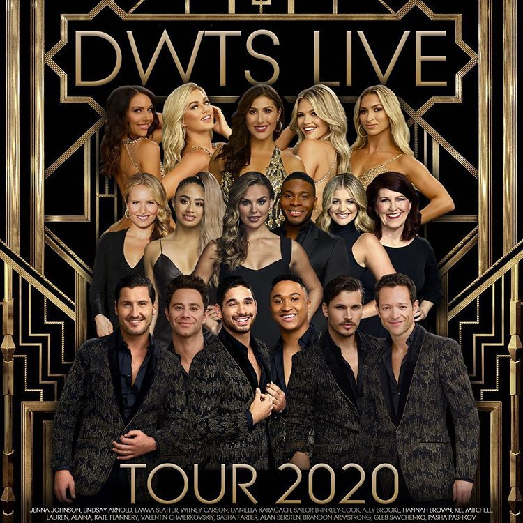 Dwts Live 2020 Tour On Instagram Get Your Tickets Now At Dwtstour Com To See This Star Studded Cast In A City Near Dancing With The Stars Dwts Sasha Farber