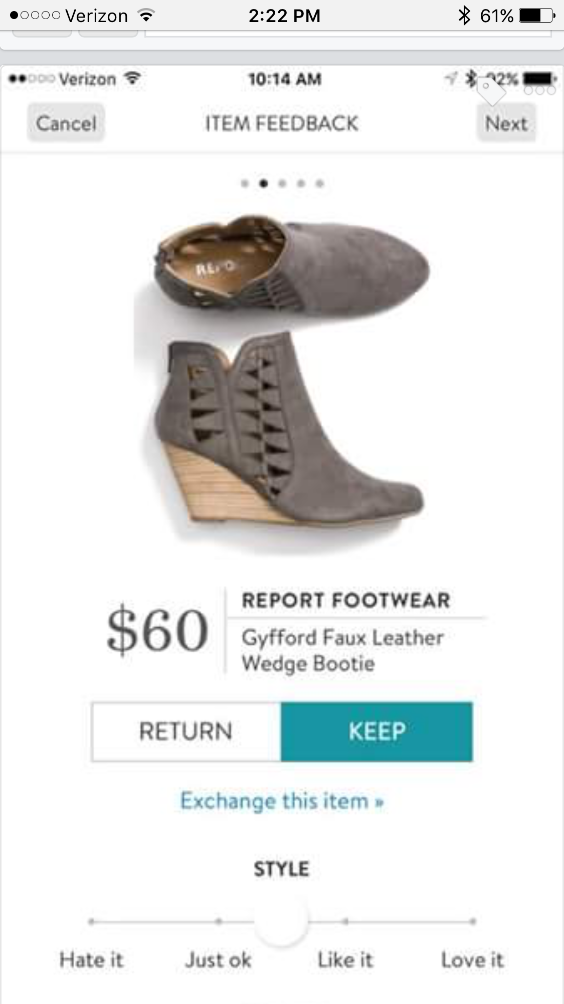 62c67e8a8e8d STYLIST Do these come in gray or black? (they look olive in this photo)