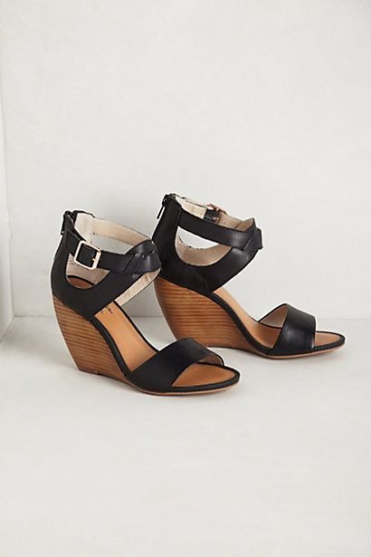 Anthropologie- these shoes! I'm a huge fan of summer shoes that cover the heels of my feet.