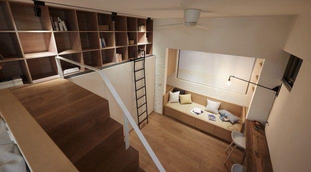 Rénovation d'un appartement de 22 m2 à Taipei par A Little Design - Journal du Design