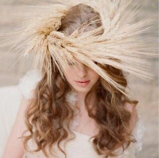 Demeter wheat crown