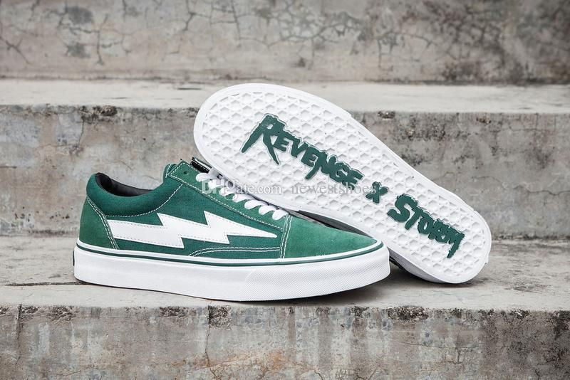 Revenge X Storm Old Skool Black Red Yellow Casual Shoes Kendall Jenner Best Footwear Ian Connor Current Mens Women Casual Shoes Sneakers Running Shoes For Men