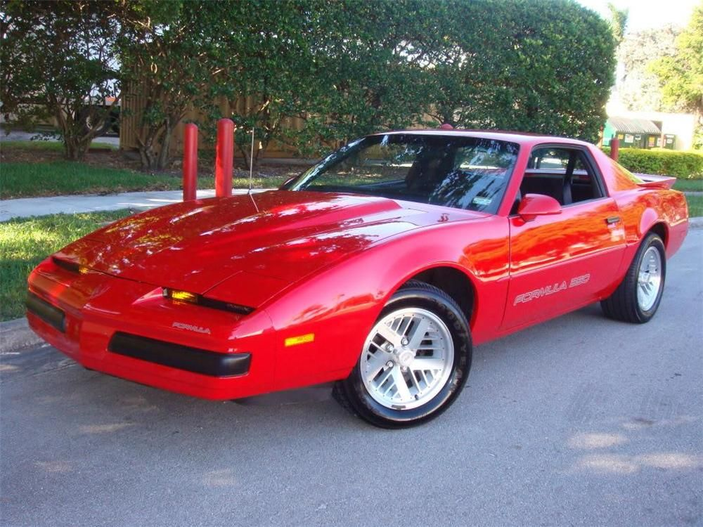 1987 Pontiac Firebird Trans Am GTA Maintenancerestoration of old