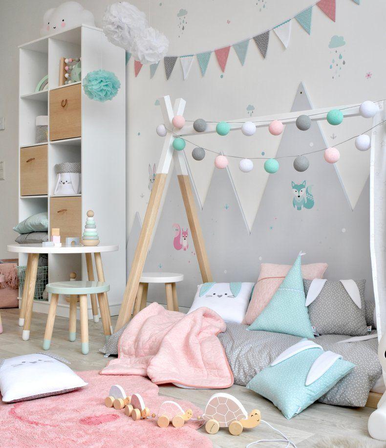 Waldtiere Zimmer mit Tipibett bei Fantasyroom online kaufen