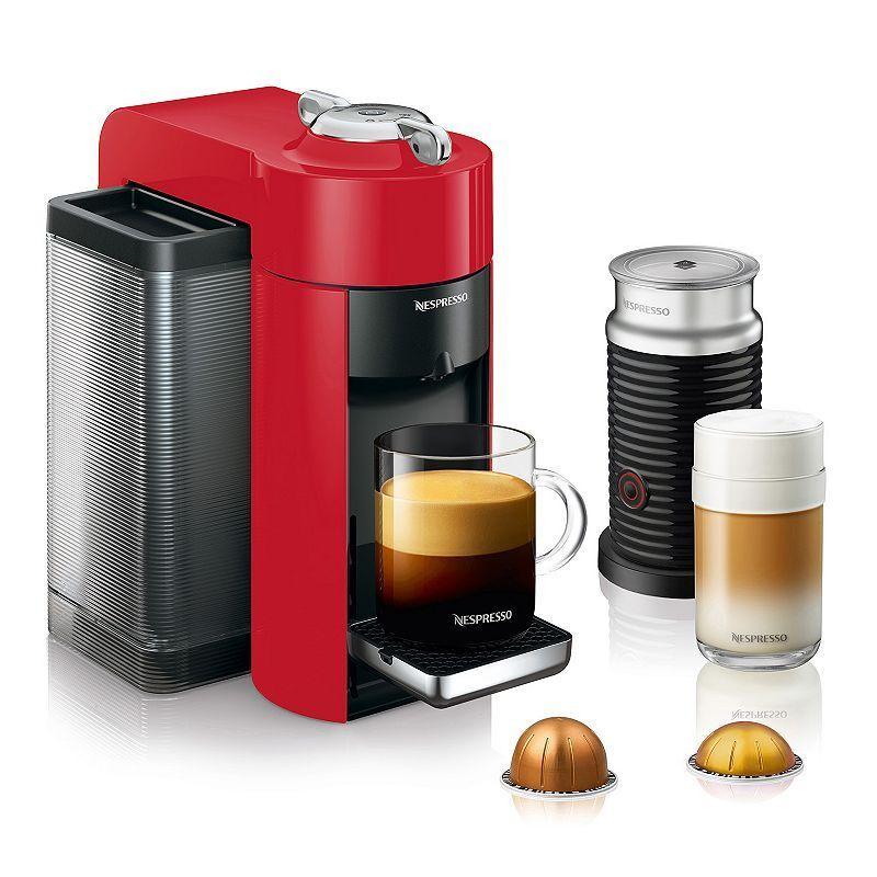 Nespresso Vertuo Coffee & Espresso Machine with Aeroccino Milk Frother by Delonghi #espressomaker