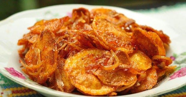 Resepi Sambal Kentang Ikan Bilis Resepi Ikan Bilis Ikan Bilis Sabah Cooking Recipes Food Recipes