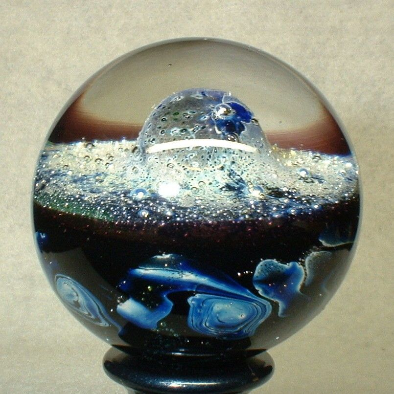 Willis Marbles 1 3 8 Cosmic Dome Handmade Marble Glass Marbles Marble Glass Art