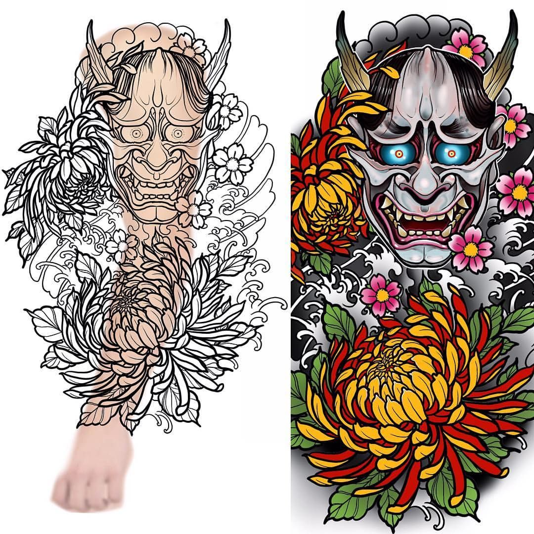 New Full Sleeve Design Up For Grabs #tattoo #tattoos