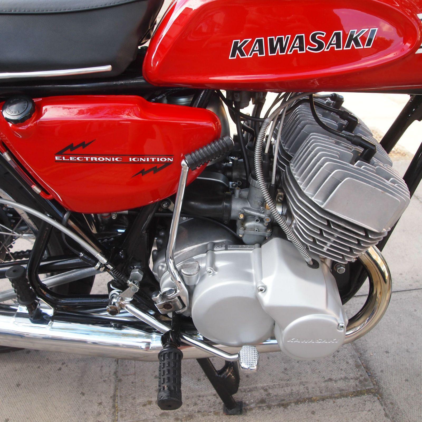 Details about 1970 Kawasaki H1 Mach 111 500 Classic Vintage