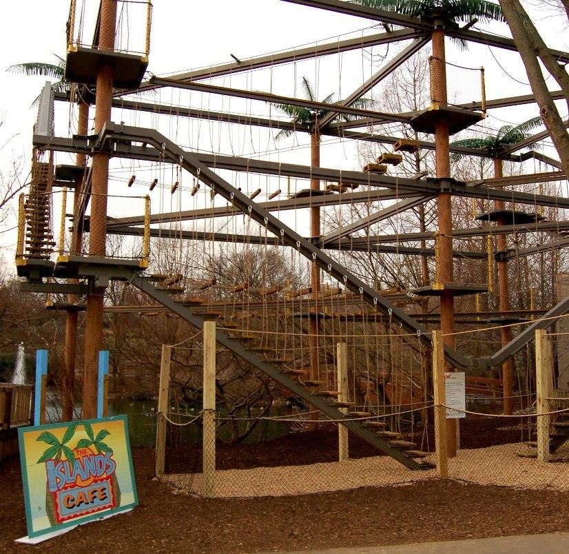 Sky Trail High Adventure Course At The Louisville Zoo