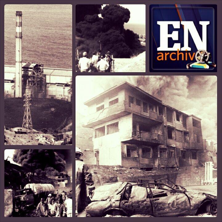 [Collage] Tragedia de Tacoa, 1982. (TOM GRILLO / ARCHIVO EL NACIONAL)