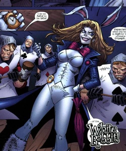 Spiderman, Marvel Comic Character, White Rabbit