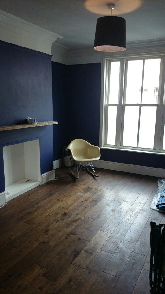 Dulux indigo night. | DIY Home Deco Ideas | Pinterest | Front rooms