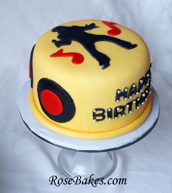 An Elvis Birthday Cake!