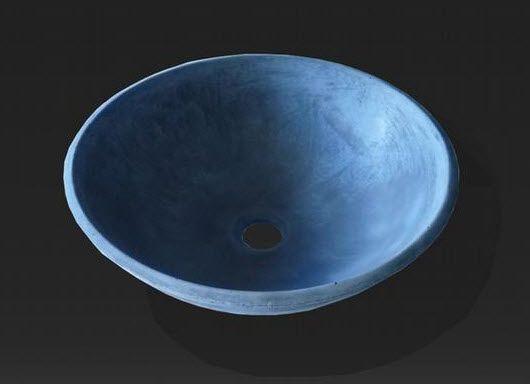 Lavabo sobre encimera de cemento ductal olympia lafarge for Encimera de concreto encerado bano