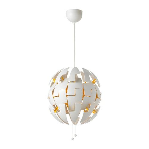 PS 2014 Pendant lamp white, yellow | Pendant lamp, Ikea ps