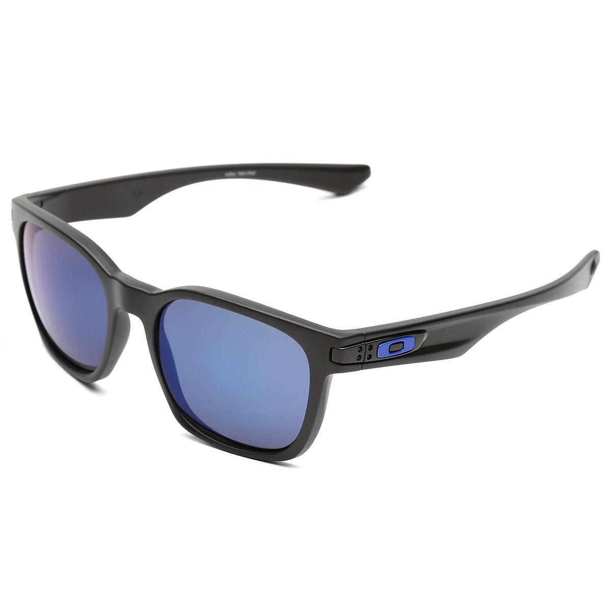Óculos Oakley Garage Rock - Polarizado Azul e Preto   Netshoes Óculos  Masculino, Netshoes, fcbfc37d3b