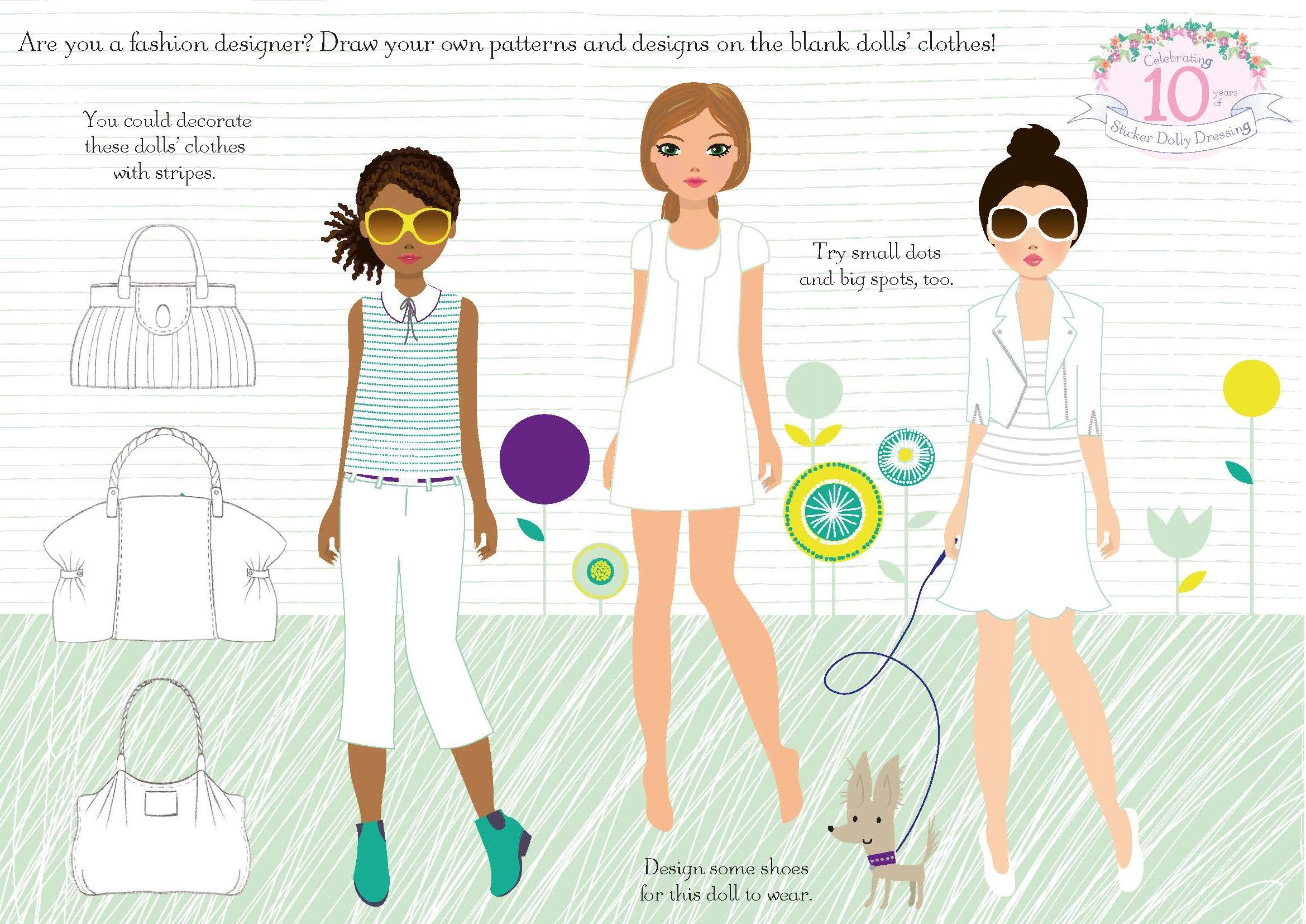 Download And Colour In This Design Your Own Outfit Activity Sheet Fashiondesigner Stickerdollydressing Stickerdollyis10 Fashion Design Design Dolly Dress