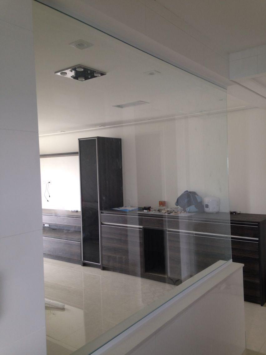 Fechamento Cozinha Americana Sala Vidro Temperado Incolor 10 Mm