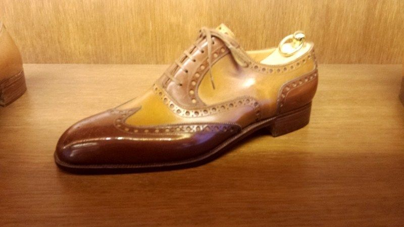 Stefano Bemer Shoes | Spectator shoes, Alligator dress shoes