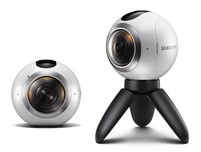 Mwc 2016 Samsung Announces Gear 360 Virtual Reality Vr Camera Price Specifications Videos Vr Camera 360 Degree Camera 360 Camera